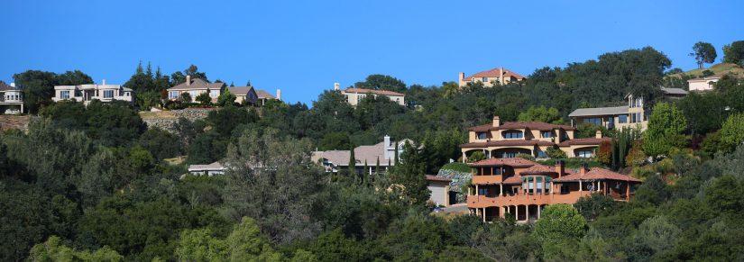 HIllside homes and estates for sale in El Dorado Hills